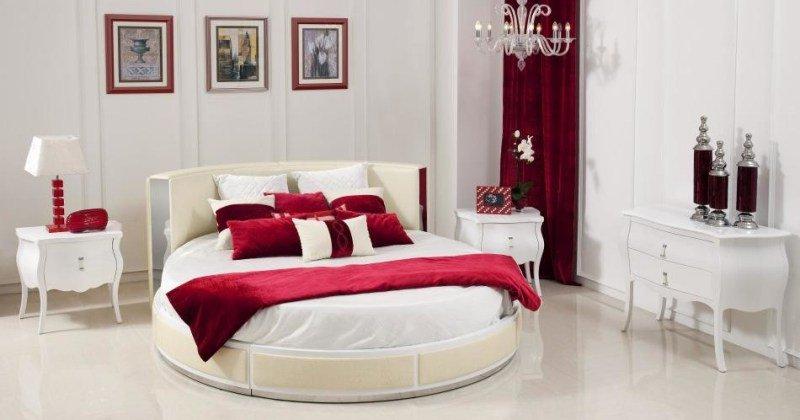 Round bed design ideas