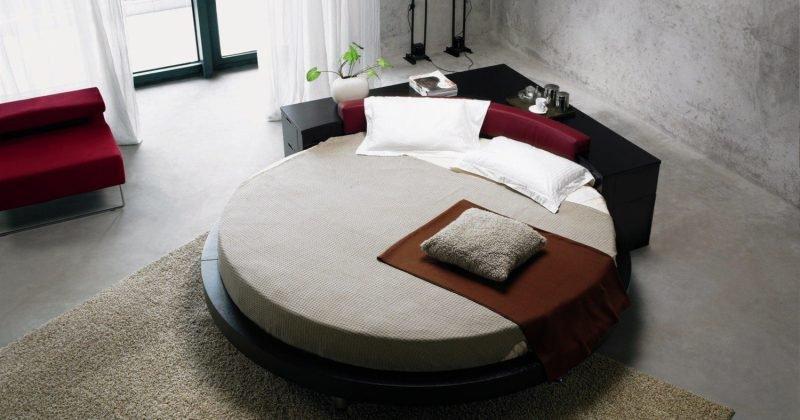 Round bed design luxury