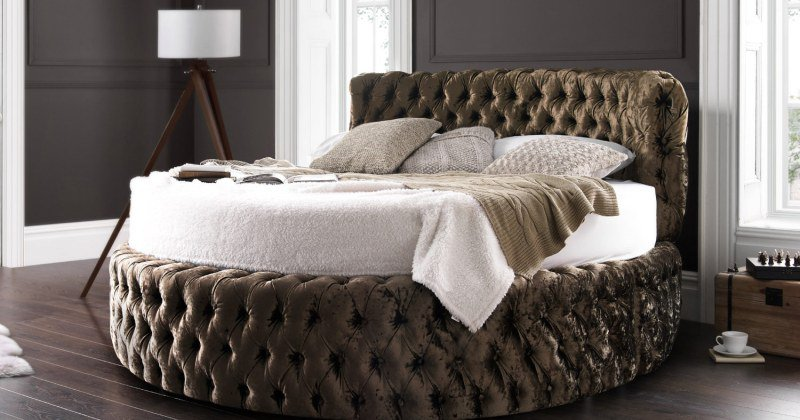 Round bed designs cool