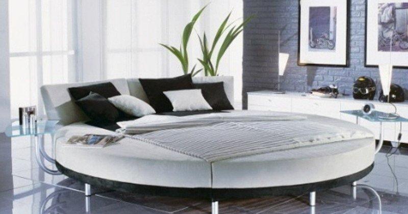 Round beds design