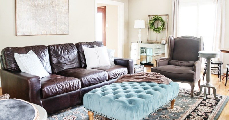 Rustic chic couch