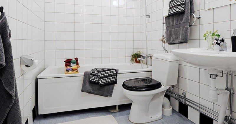 Scandinavian bathroom design images