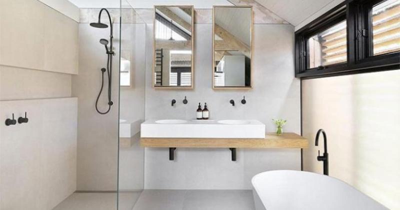 Scandinavian bathroom design pinterest