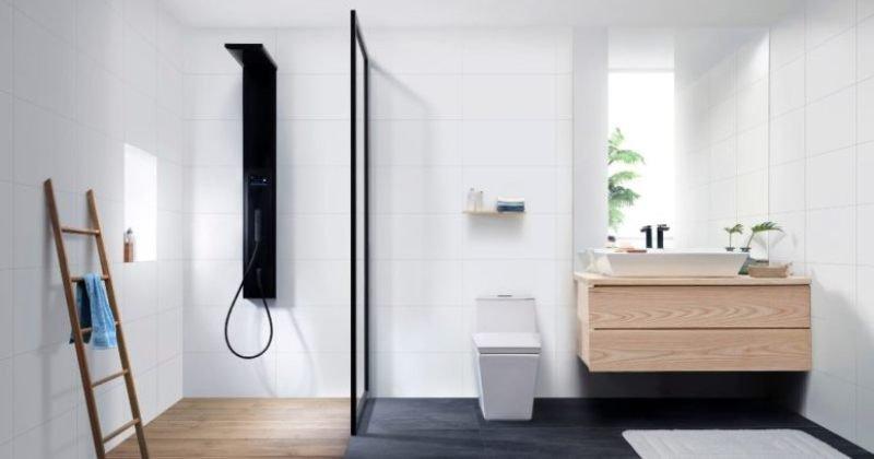Scandinavian bathroom furniture
