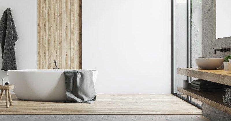 Scandinavian bathroom images