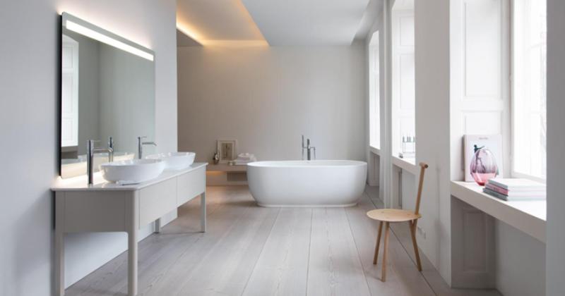 Scandinavian bathroom style