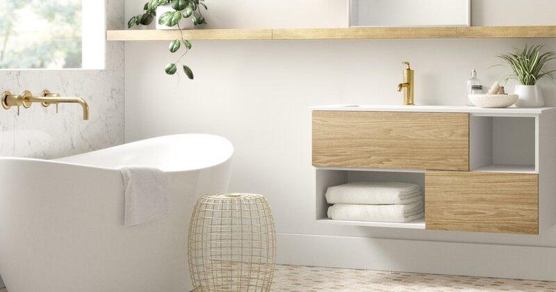 Scandinavian design bathroom vanities