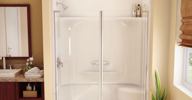 Shower enclosure fiberglass