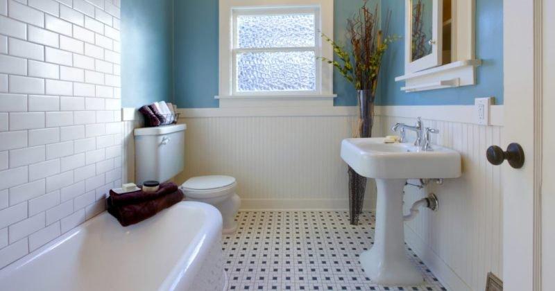 Simple clean bathroom design ideas