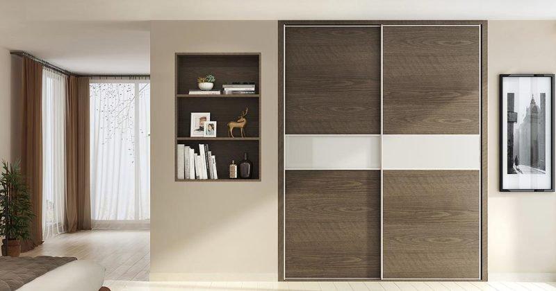 Sliding wardrobe cabinet