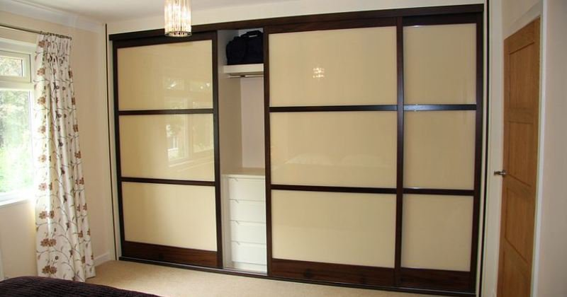 Sliding wardrobe doors japanese style