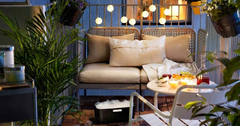 Small apartment terrace design ideas