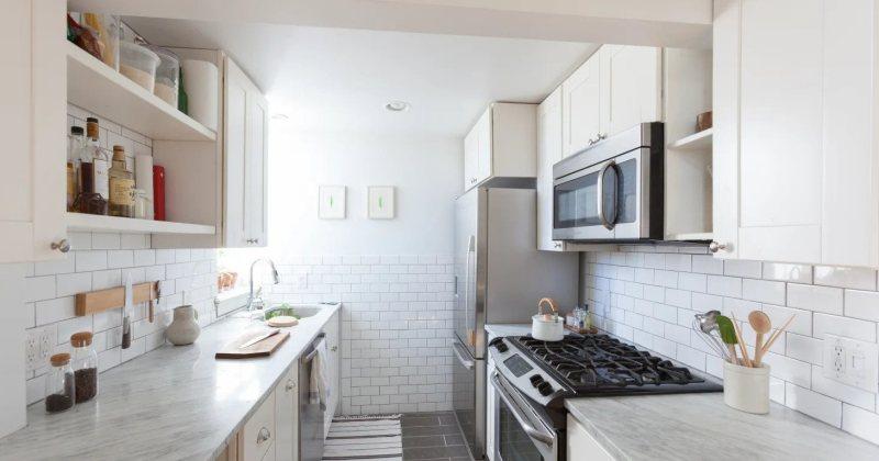 Small galley kitchen design