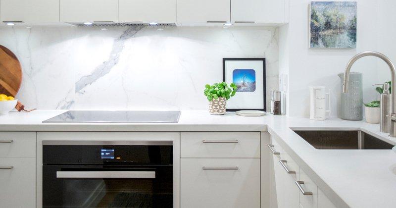 Small kitchen design for condo
