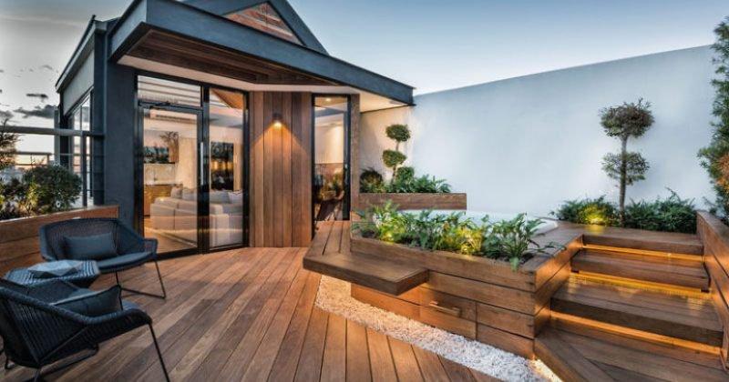 Small roof terrace design ideas