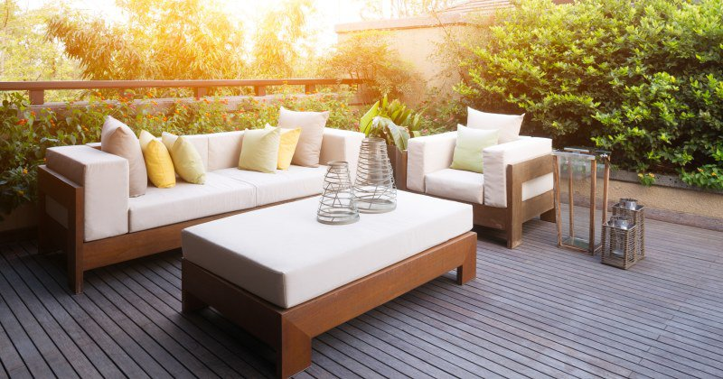 Small terrace design ideas