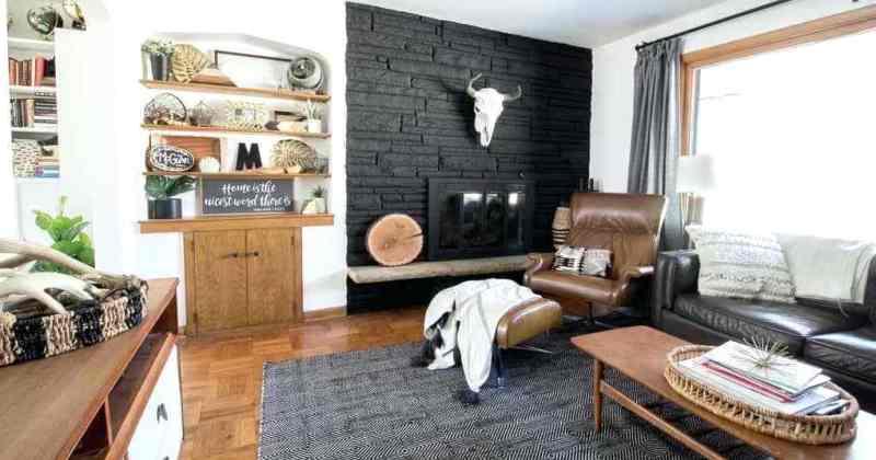 Stacked interior ideas hearth decor