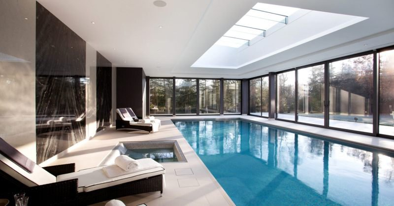 Swimming pool home design