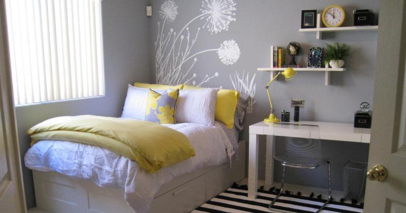 Teenage girl room color