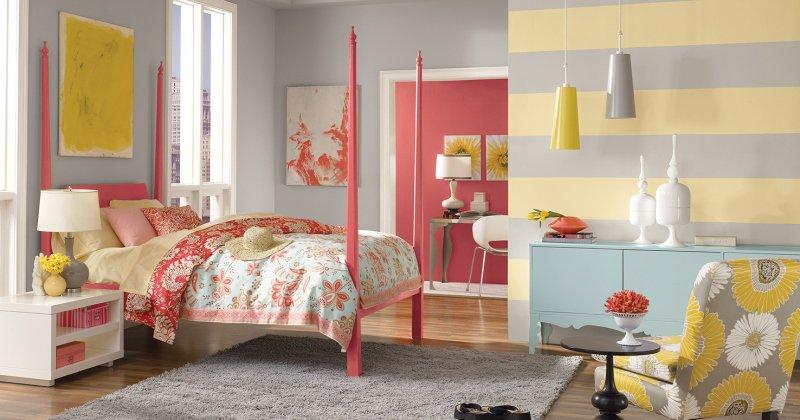 Teenage girl room paint color ideas