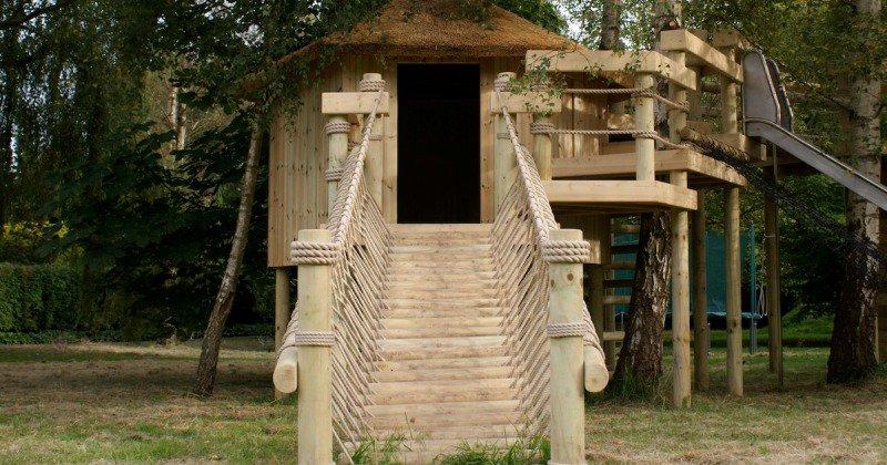 Tree house entrance ideas