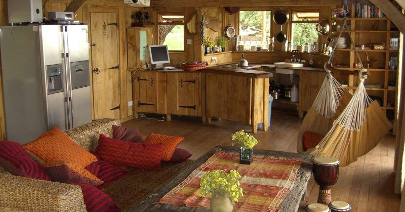 Tree house interior design ideas