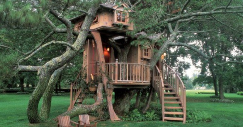 Treehouse fort ideas
