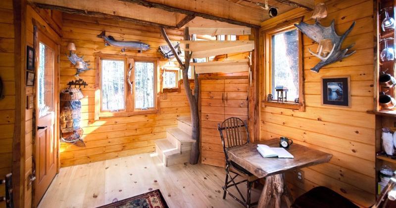 Treehouse interior ideas