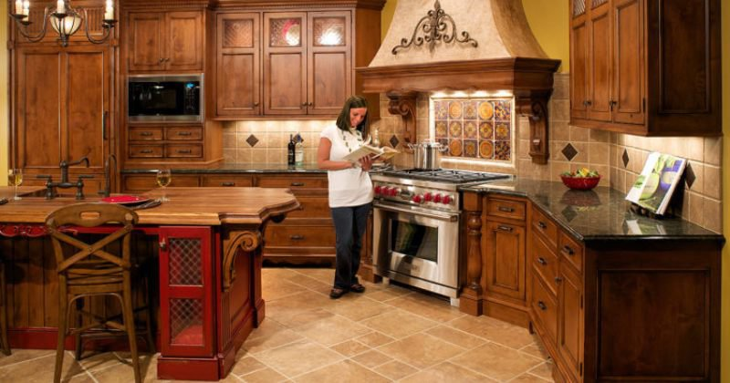 Tuscan decor for kitchen