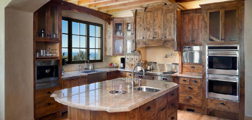 Tuscan style kitchen images