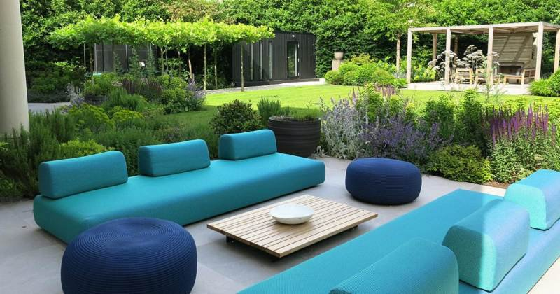 Unique garden furniture ideas