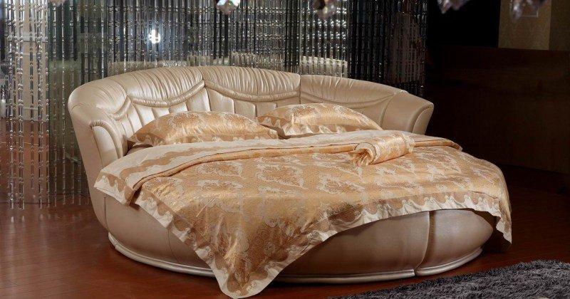 Unique round bed designs