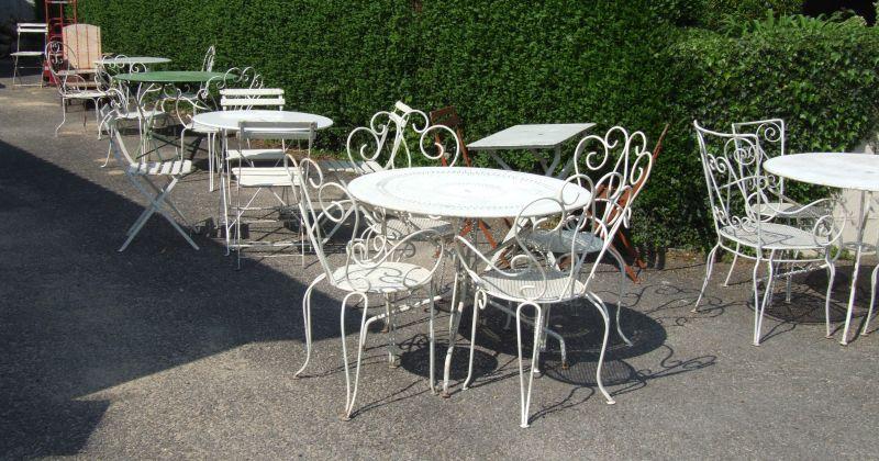 Vintage french garden furniture uk