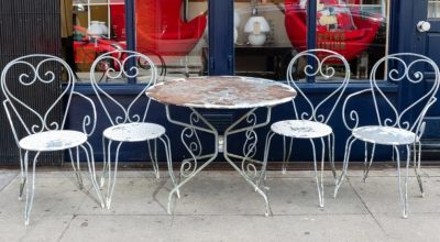White French Garden Furniture