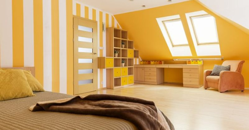 Yellow rooms mood