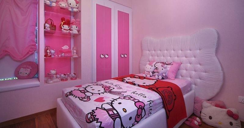 hello kitty bedroom kids