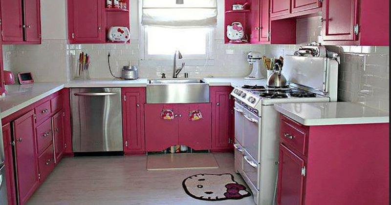 hello kitty kitchen design