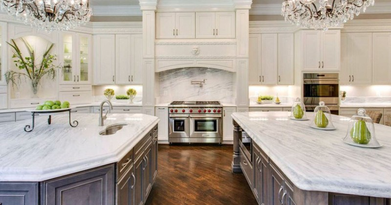 Beautiful kitchen designs with white cabinets