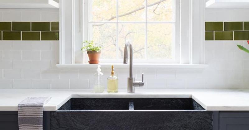 Beautiful kitchen sink designs