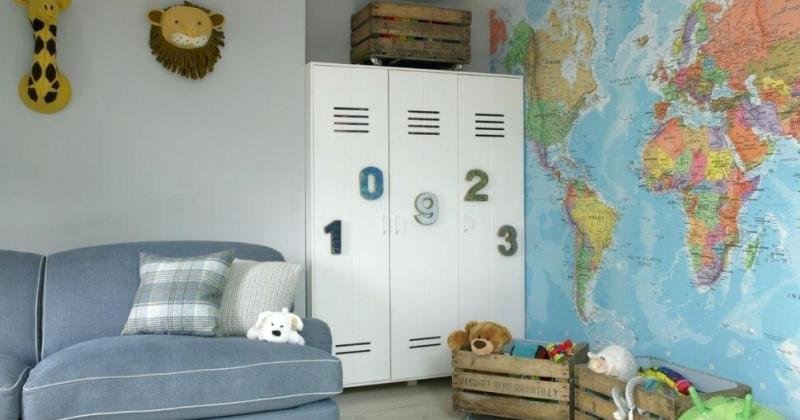 Bedroom lockers furniture