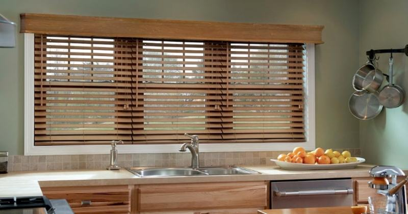 Blind ideas for kitchen windows