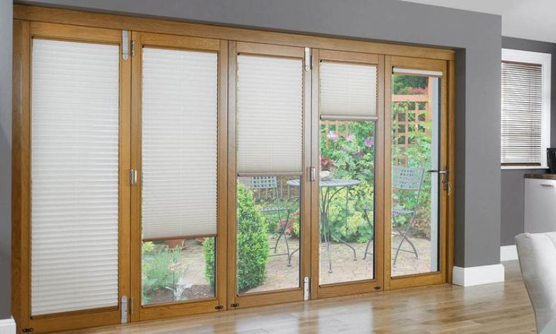 Blind ideas for sliding glass doors