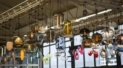 Blown Glass Pendant Lighting