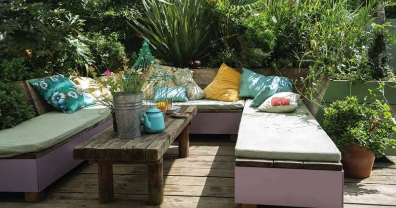 Boho outdoor furniture ideas