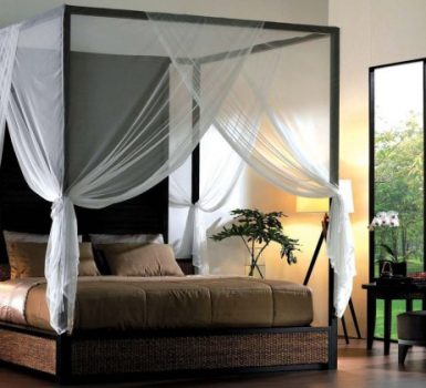 Canopy Bed Bedroom Decorating