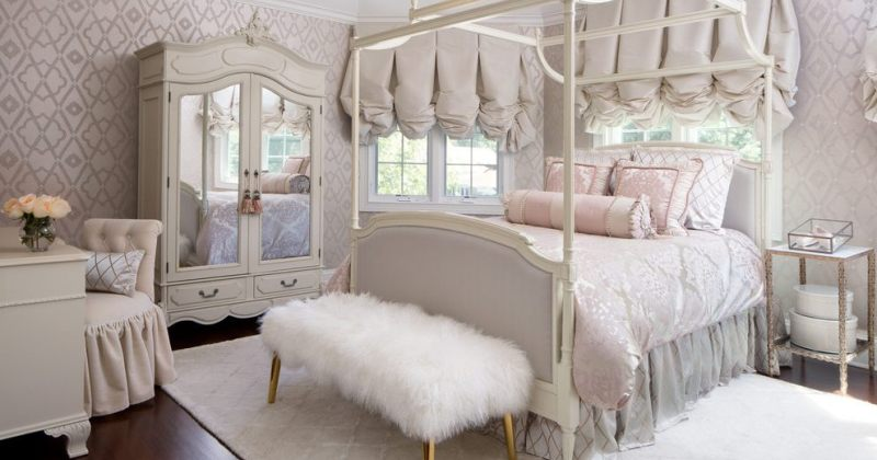 Canopy bed bedroom decorating ideas