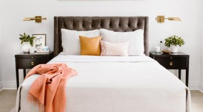 Cool Bedroom Presents Comfortable Space Sleep