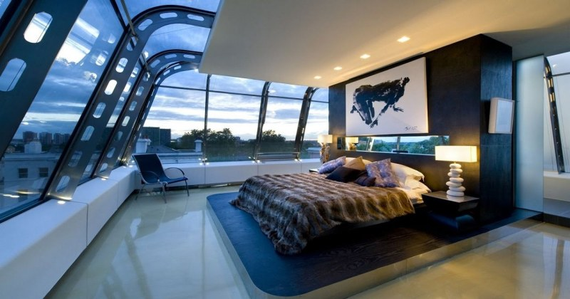 Cool bedroom interior design