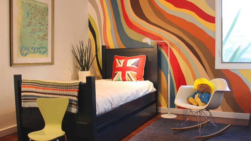 Cool bedroom paint designs