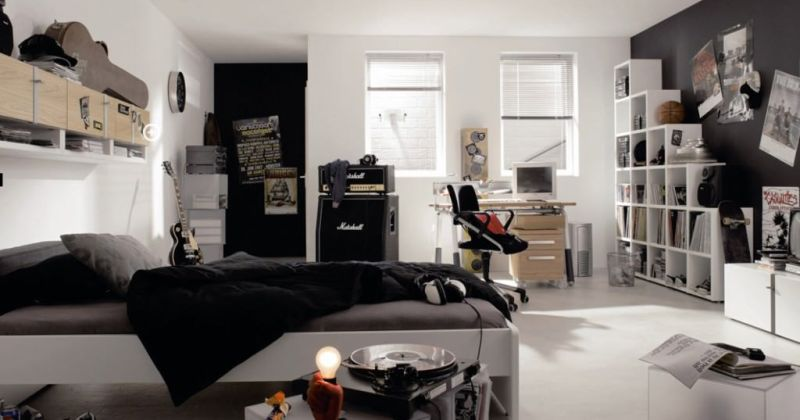 Cool emo bedroom ideas
